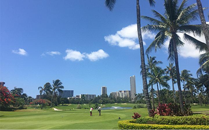 ホノルルカントリークラブ(ハワイ)